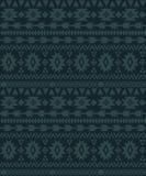 Geometrisch etnisch naadloos ornament gebaseerd op tapijten royalty-vrije illustratie
