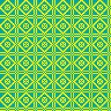 Geometrisch etnisch ornament, naadloos patroon Vector illustratie Stock Foto