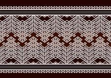 Geometrisch etnisch patroon Stock Foto's