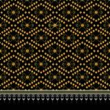 Geometrisch etnisch patroon vector illustratie