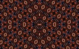 Geometrisch Futuristisch Kleurrijk Patroon Royalty-vrije Stock Foto's