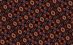 Geometrisch Futuristisch Kleurrijk Patroon Royalty-vrije Stock Afbeelding