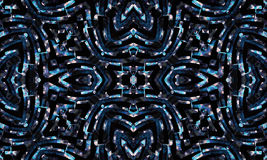 Geometrisch Futuristisch Naadloos Patroon Royalty-vrije Stock Foto's
