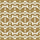 Geometrisch Gestileerd Vlinderspatroon Royalty-vrije Stock Foto