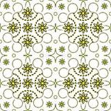 Geometrisch gestreept patroon Royalty-vrije Stock Foto's