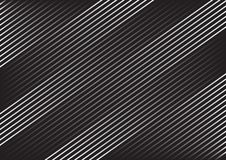 Geometrisch gestreept patroon met ononderbroken parallelle diagonale lijnen op donkergrijze achtergrond Vector vector illustratie