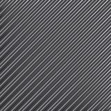 Geometrisch gestreept patroon met ononderbroken parallelle diagonale lijnen op donkergrijze achtergrond Vector stock illustratie