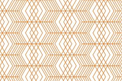 Geometrisch gouden naadloos patroon stock illustratie
