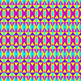 Geometrisch Hipster-Patroon Royalty-vrije Stock Foto