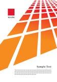Geometrisch malplaatje Stock Fotografie