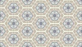 Geometrisch modern patroon als achtergrond Royalty-vrije Stock Fotografie