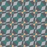 Geometrisch mozaïekpatroon Stock Fotografie