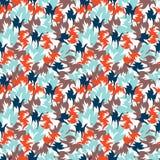 Geometrisch naadloos abstract patroon Stock Afbeelding