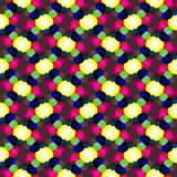 Geometrisch naadloos abstract patroon Stock Foto
