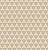 Geometrisch naadloos patroon. Stock Afbeelding