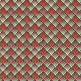 Geometrisch naadloos patroon Royalty-vrije Stock Afbeelding