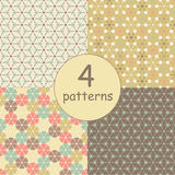 Geometrisch naadloos patroon Stock Fotografie
