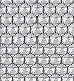 geometrisch naadloos patroon Stock Foto's