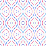 geometrisch naadloos patroon Royalty-vrije Stock Foto