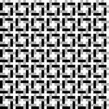 Geometrisch naadloos patroon dat van gebogen lijnen wordt gemaakt Royalty-vrije Stock Foto