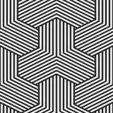 geometrisch naadloos patroon Gestreepte textuur Vector eindeloze achtergrond stock illustratie