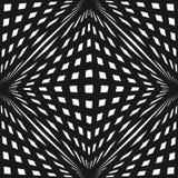 Geometrisch naadloos patroon met de kruising van lijnen, kubieke strepen, Royalty-vrije Stock Afbeeldingen