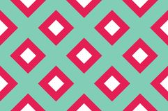 Geometrisch naadloos patroon met het snijden van lijnen, netten, cellen Kruiselingse achtergrond voor druk op stof, document, het vector illustratie