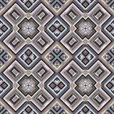 Geometrisch naadloos patroon, moderne ontwerptextuur stock fotografie