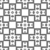 geometrisch naadloos patroon textuur in vectorformaat EPS 10 Malplaatje voor uw creativiteit Royalty-vrije Stock Afbeeldingen