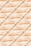 Geometrisch naadloos patroon in warme kleuren. Stock Afbeelding