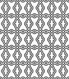 Geometrisch Naadloos Vector Abstract Patroon Stock Fotografie