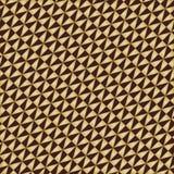 Geometrisch naadloos vectorpatroon Stock Afbeelding