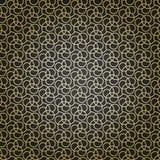 Geometrisch naadloos vectorpatroon Royalty-vrije Stock Afbeelding
