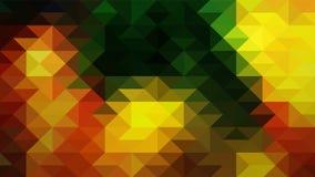 Geometrisch ontwerp, Mozaïek, abstract Mozaïek als achtergrond, Patroon voor bedrijfsadvertentie, boekjes, pamfletten stock illustratie