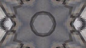 Geometrisch ontwerp, Mozaïek van een vectorcaleidoscoop, Patroon voor bedrijfsadvertentie, boekjes, pamfletten stock illustratie