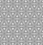 Geometrisch ornament met driehoek. Stock Foto's