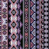 Geometrisch ornament voor keramiek, behang, textiel, Web, kaarten Etnisch patroon Grensornament Inheems Amerikaans ontwerp stock illustratie