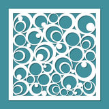 Geometrisch ornamentmalplaatje Royalty-vrije Stock Fotografie