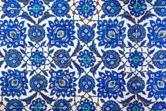 Geometrisch Ottomanepatroon Stock Fotografie