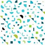 Geometrisch Patroon Als achtergrond Vector Illustratie