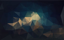 Geometrisch patroon, driehoekenachtergrond Stock Foto