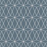 Geometrisch patroon met diamanten, driehoeken Veelhoekenachtergrond Beeld met herhaalde geometrische cijfers Etnisch motief stock illustratie
