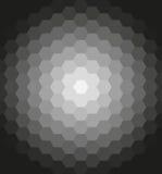 Geometrisch Patroon met Stroomeffect Royalty-vrije Stock Afbeeldingen
