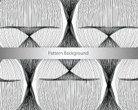 Geometrisch patroon Naadloze vectorachtergrond Royalty-vrije Stock Afbeeldingen