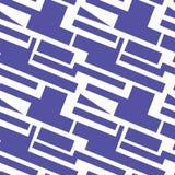 Geometrisch patroon op de transparante achtergrond royalty-vrije illustratie