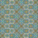 Geometrisch patroon, reeks stukken Royalty-vrije Stock Foto