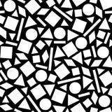 Geometrisch patroon van de cijfers Royalty-vrije Stock Afbeeldingen