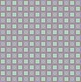 Geometrisch pixelpatroon. Vinage. Naadloos Stock Fotografie