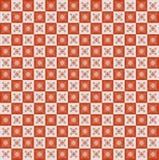 Geometrisch pixelpatroon. Wijnoogst. Naadloos Royalty-vrije Stock Fotografie