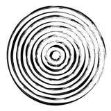 Geometrisch radiaal element stock illustratie